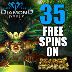 Click Here to Get 35 Free Spins on Secret Symbol Slot at Diamond Reels Casino