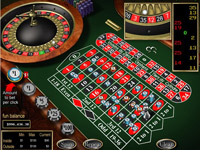 That true european style Roulette is right here at just a lick of a button.
