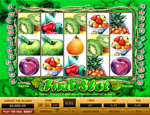 Apples, Grapes, Pears, Plums and much more can be played here at Fruit Slots.