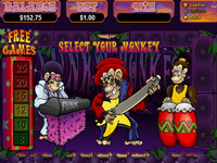 Are you in the mood to get Funky with your Monkey.... Then visit Grand Parker Casino to play Funky Monkey!!
