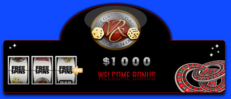 $1000 Welcome bonus just for you, only if you sign up with Vegas Regal Casino.